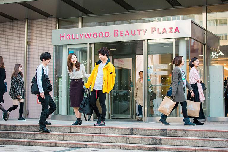 東京の美容学校の外観写真2
