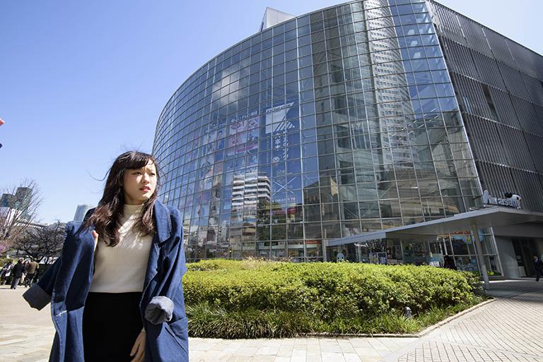 東京の美容学校の外観写真3