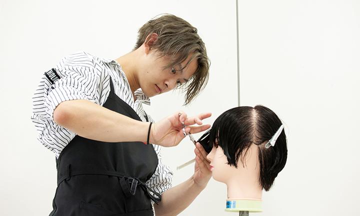 東京で美容を学ぶ 現役トップスタイリストによる実技指導