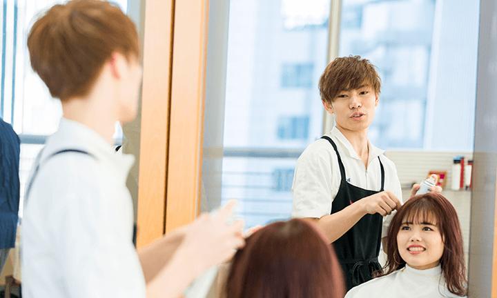 東京で美容師を目指すならハリウッド