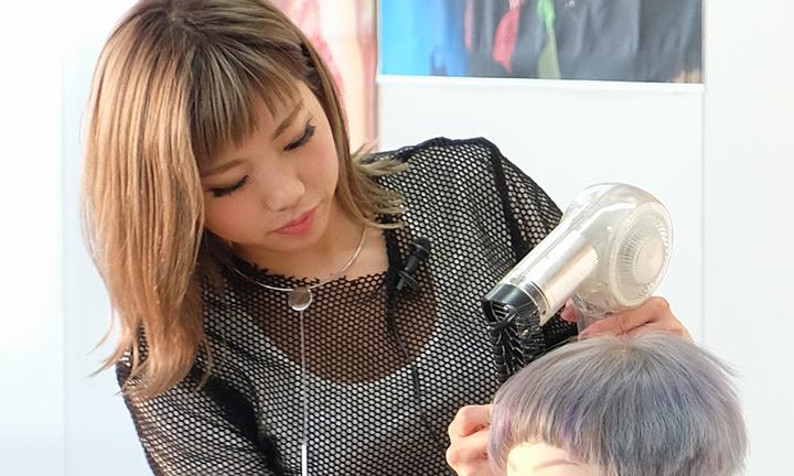 東京で美容を学ぶ ヘアメイクアップアーティスト