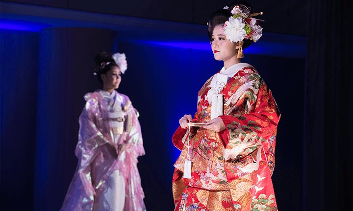東京で美容を学ぶ 和装・着付け師