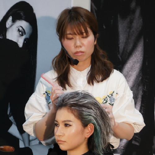 東京の美容学校ハリウッドの卒業生 野原 友梨絵さん