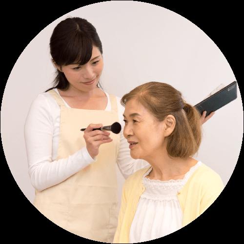 美容ヘルパーの活躍の場 訪問美容専門サロン