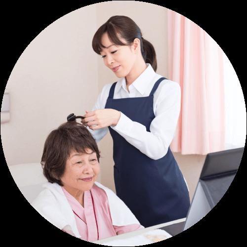 美容ヘルパーの活躍の場 福祉介護施設